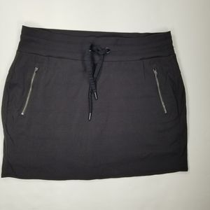 Athleta Skirt Skort Sz 12 Black
